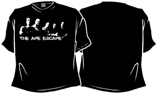 Herren T-Shirt: The Ape Escape Band