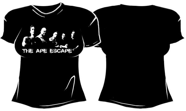 Girly Shirt: The Ape Escape Band