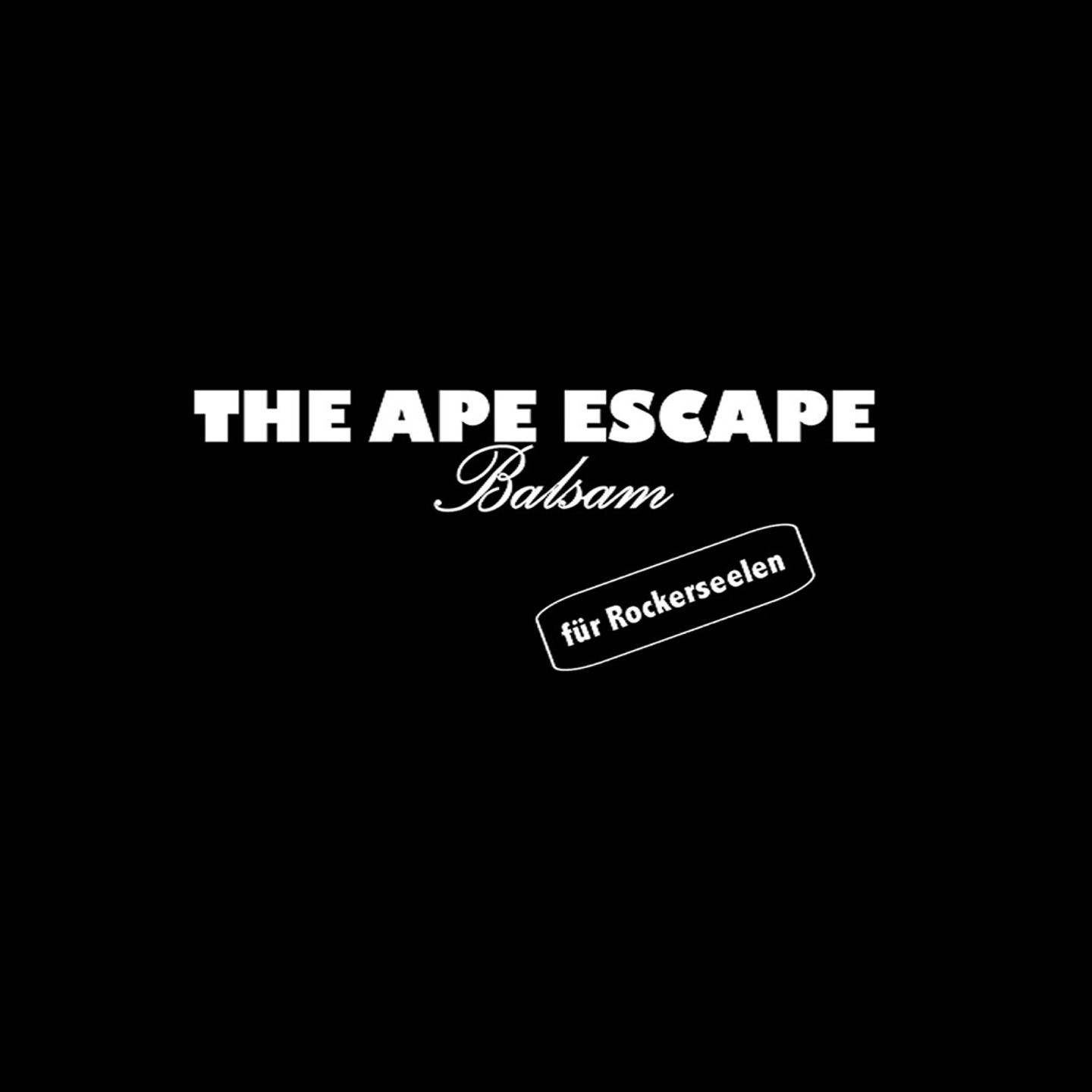 The Ape Escape - Balsam